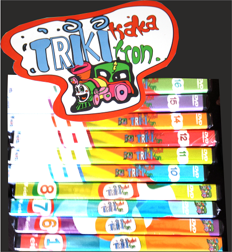 Triki Traka Triki Tron DVDak